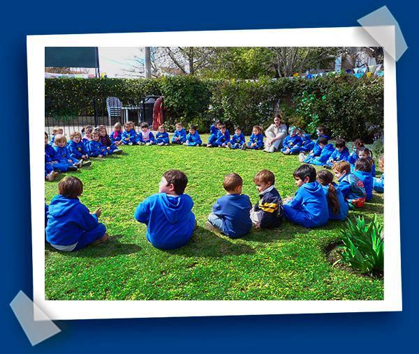 Jardin de infantes el arco iris actividades for Actividades en el jardin